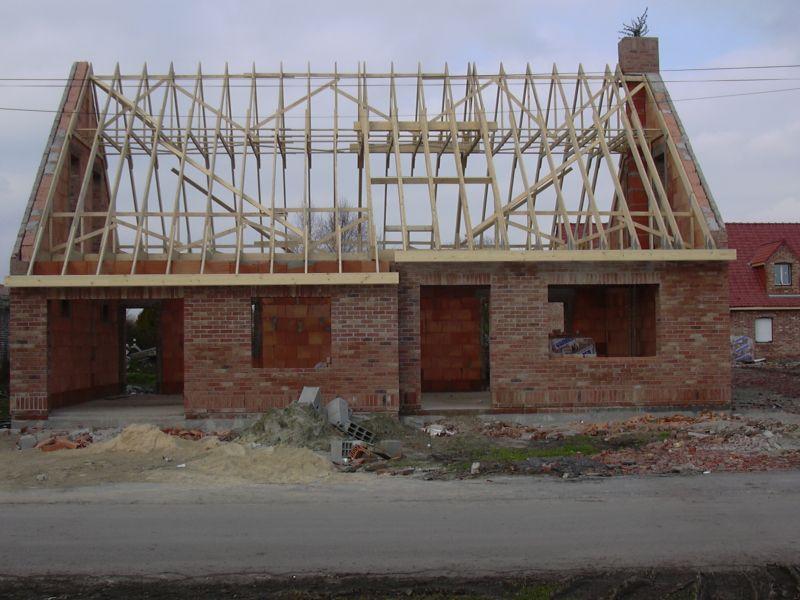 La maison de mag et dommy la construction la charpente Materiel construction maison